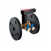 БРОЕН V ручные балансировочные клапаны с предварительной настройкой (фланцы)