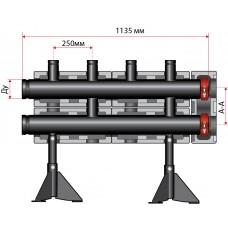 Распределительные гребенки Huch до 2800 кВт