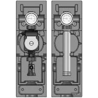 Насосные группы до 130 кВт Meibes V-MK со смесителем