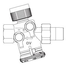 Cocon QTZ комбинированный балансировочно–регулирующий вентиль