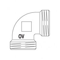 Угольник 90° Oventrop