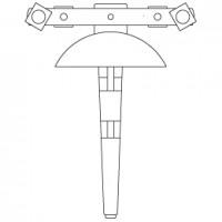 Трубогиб для труб с наружным диаметром