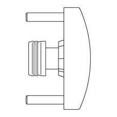 Универсальный инструмент для калибровки и снятия фаски
