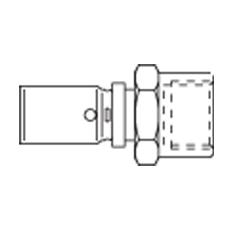 Cofit P с внутренней резьбой прессовое соединение