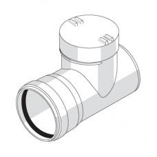 Ревизия с резиновым уплотнительным кольцом