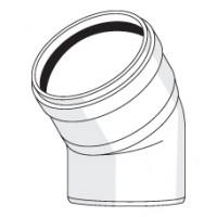 Отвод с резиновым уплотнением