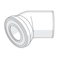 Отвод для присоединения выпуска унитаза