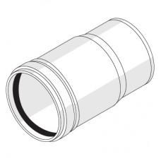 Компенсационный патрубок с резиновым уплотнительным кольцом