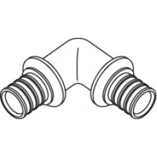 Угольник 90° для труб RAUTHERM S