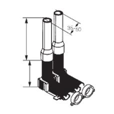 Комплект для подключения отопительного прибора