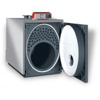 ELLPREX двухходовой (с реверсивной камерой сгорания) водогрейный стальной котел